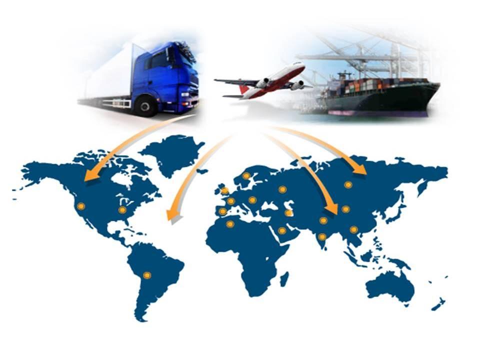 Chuyển phát nhanh nội địa, quốc tế đa phương tiện