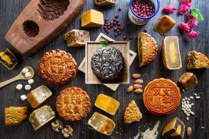 Các loại bánh trung thu xuất khẩu đi Hàn Quốc
