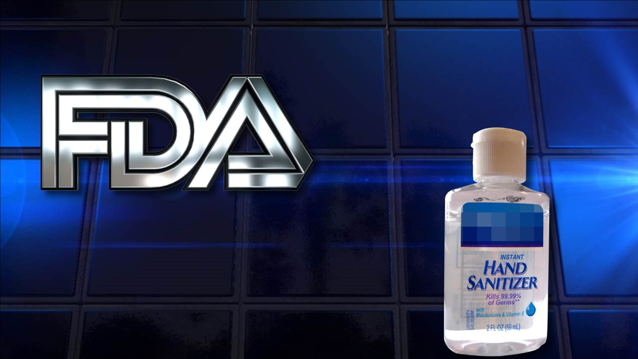 Nước rửa tay diệt khuẩn nhập khẩu vào Mỹ phải có FDA