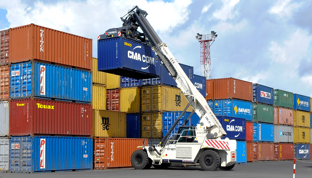 Container rỗng